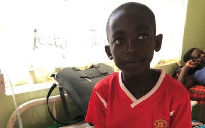 Ett mirakel – pojke överlevde 42,8 graders feber