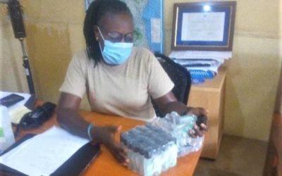 Jubileumspengarna har blivit handsprit, babypaket, hyllor och ström i Kenya
